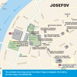 Travel map of Josefov (Jewish Quarter) in Prague