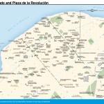 Travel map of Vedado and Plaza de la Revolucion