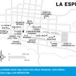 Map of La Esperanza, Honduras