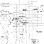 Travel map of Ogden, Utah