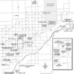 Travel map of Logan, Utah