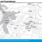 Travel map of Regla and Guanabacoa, Cuba