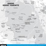 Map of Dining Inside Yosemite