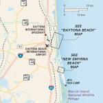 Travel map of Florida's Atlantic Coast North