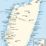 Travel map of Isla Cozumel