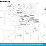 Travel map of Fredericksburg, Texas