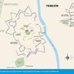 Travel map of Terezín, Czech Republic
