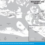 Map of Beaufort and Vicinity, North Carolina