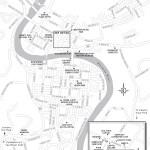 Map of Frankfort, Kentucky