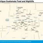 Travel map of La Antigua Guatemala Food and Nightlife