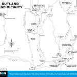 Map of Rutland, Vermont and Vicinity