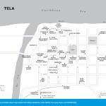 Map of Tela, Honduras