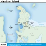 Travel map of Hamilton Island, Australia