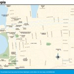 Travel map of Olympia Washington