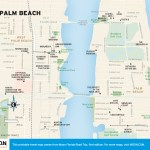 Travel map of Downtown Palm Beach, Florida
