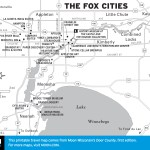 Map of The Fox Cities, Wisconsin