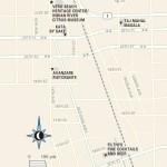 Travel map of Downtown Vero Beach, Florida