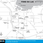 Map of Fond du Lac, Wisconsin