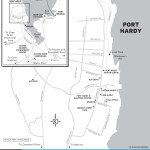 Map of Port Hardy, BC