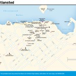 Travel map of Christiansted, Virgin Islands