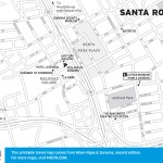 Map of Santa Rosa, California