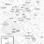 Map of Downtown Lexington, Kentucky