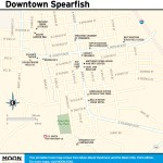 Travel map of Downtown Spearfish