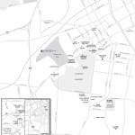 Map of Midtown Nashville & West End, TN