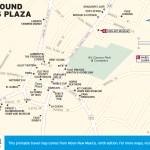 Travel map of Around Taos Plaza, New Mexico