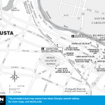 Map of Augusta