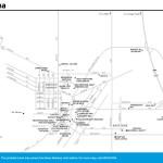 Travel map of Helena, Montana