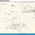 Travel map of Quetzaltenango (Xela), Guatemala