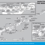 Map of Marathon and the Middle Keys, Florida