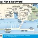 Travel map of Royal Naval Dockyard, Bermuda