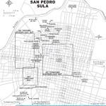 Travel map of San Pedro Sula, Honduras