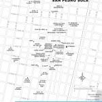 Travel map of Downtown San Pedro Sula, Honduras