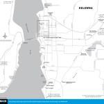 Map of Kelowna, BC