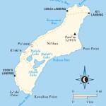 Travel map of Ni'ihau, Hawaii
