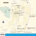 Travel map of Raton, New Mexico