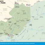 Travel map of Koke'e State Park, Kauai, Hawaii