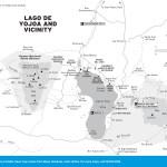 Travel map of Lago de Yojoa and Vicinity, Honduras