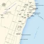 Map of Punta Gorda, Belize