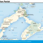 Travel map of Hamilton Parish, Bermuda