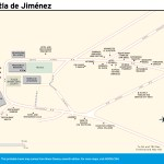 Travel map of Huautla de Jiménez, Oaxaca