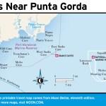 Map of Islands near Punta Gorda, Belize