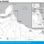 Travel map of Corpus Christi, Texas