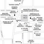 Travel map of Remedios, Cuba