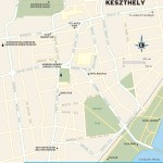 Travel map of Keszthely, Hungary