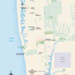 Travel map of Naples, Florida