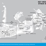 Map of Key West and Stock Island, Florida